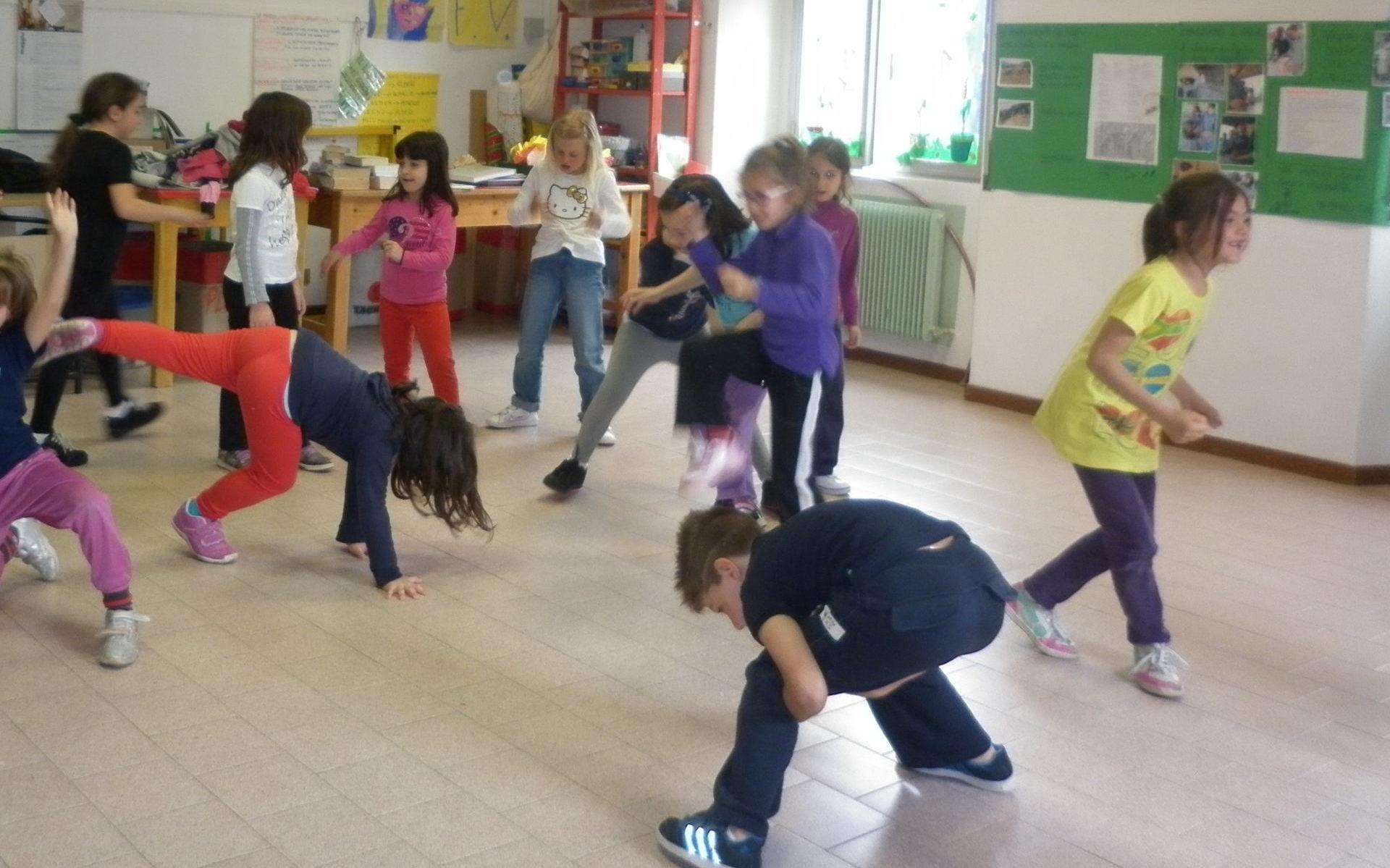 la danza in classe